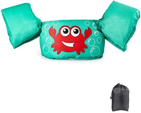 JEVDES Swim Vest for Toddlers Kids Life Jacket 22 66lbs Cute Cartoon Toddler Floatie Vest Children product image