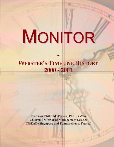Monitor: Webster's Timeline History, 2000 - 2001