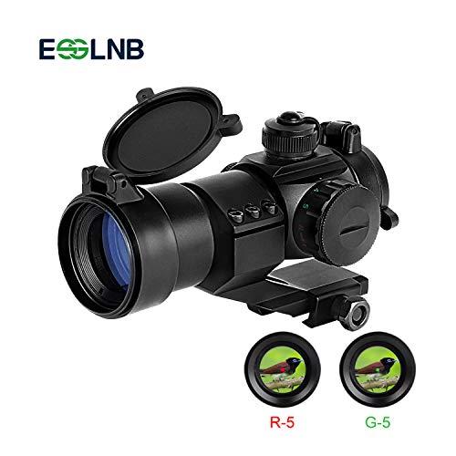 ESSLNB Red Dot Sight 5 Brightness Settings Rifle Scope with...