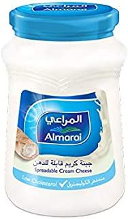 Almarai Spreadable Low Cholesterol Cream Cheese, 500G