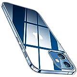 TORRAS Crystal Clear für iPhone 12 Hülle/iPhone 12 Pro Hülle Vergilbungsfrei (Super Klar)...