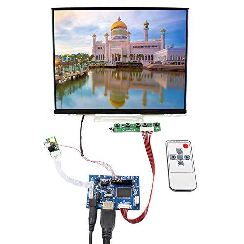 VSDISPLAY Pantalla LCD IPS de 10,4 Pulgadas 1024 x 768 Pantalla LTD104EDZS con Controlador HDMI VS-TY2660H-V1 (para Monitor de Bricolaje)