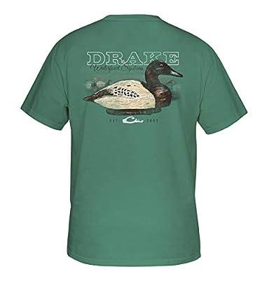 Drake Canvasback Wood Decoy Short Sleeve T-Shirt - Light Green