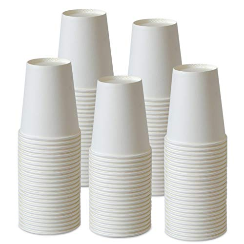 Paper Cups, 150 Pack 8 Oz Paper Cups, Paper Coffee Cups 8 Oz, Hot Cups Paper Coffee Cups Paper Cups...