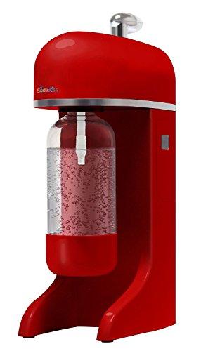 Big Boss 9402 Soda Boss Soda Making Machine, Red Plus 10 Canisters