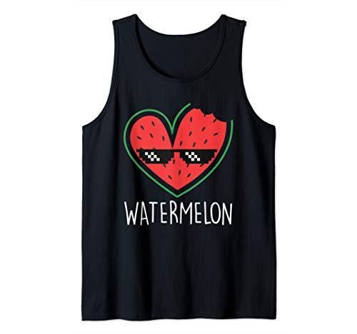 Wassermelone   Watermelon Sommer Wassermelonen Tank Top