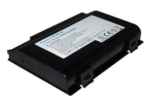 Li-Ion 10,80 V 4400 mAh Compatible batterie de remplacement pour Fujitsu Lifebook A1220, LifeBook A6210, LifeBook AH550 Lifebook E8410