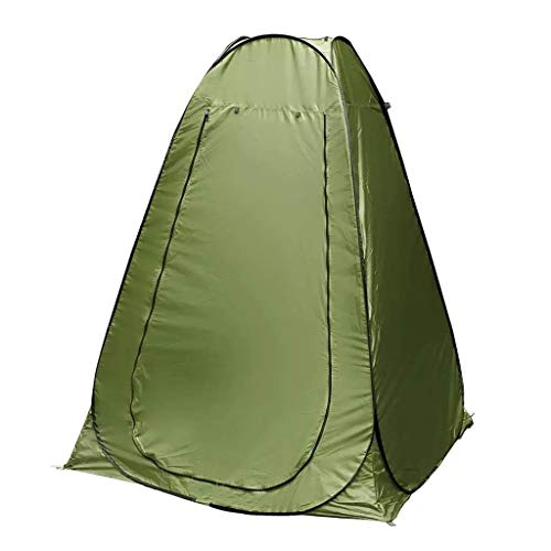 DFANCE Portable Pop Up Tent, Camping Privacy Tent Outdoor Shower Tent Dressing Changing Privacy Tent Rain Shelter for Camping, Fishing, Hiking