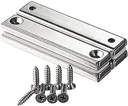 Wukong Sterke neodymium magneten, 4 stuks n52 panmagneten neodymium magneten 60 mm x 13,5 mm x 5 mm, zeldzame magneet, sup...