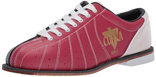 Herren TCR1L Cobra Rental Bowlingschuhe, Schnürsenkel, Rot/Blau