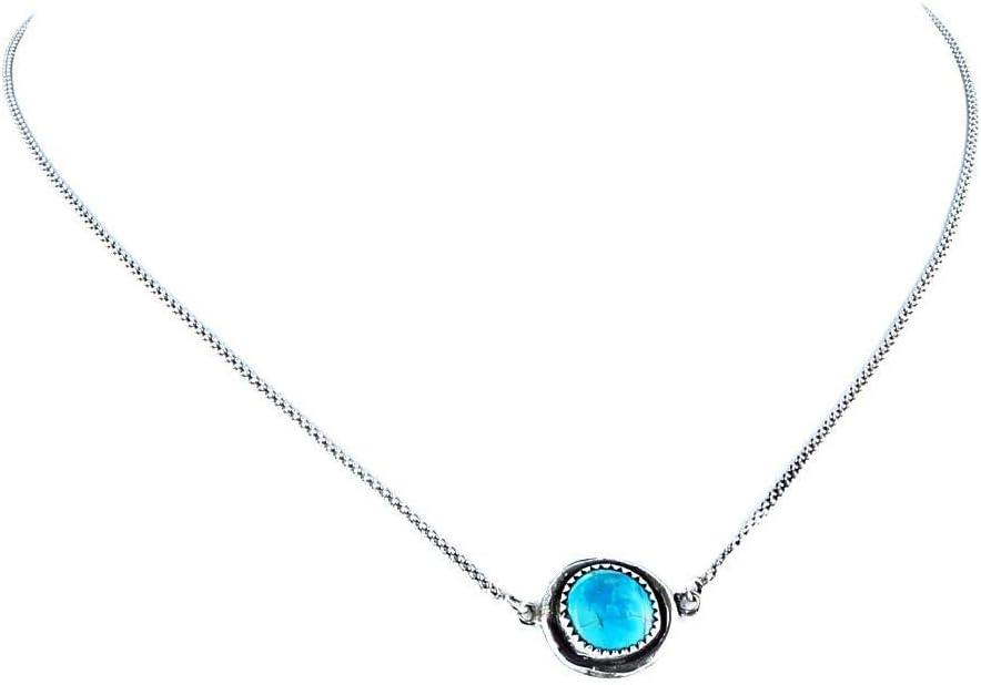 GEM Turquoise Kingman Bright Chain 16