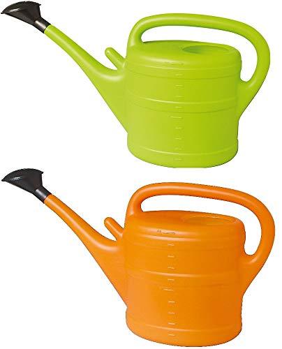 Gießkanne (2x) 10L große Farbauswahl Kanne Gartenkanne