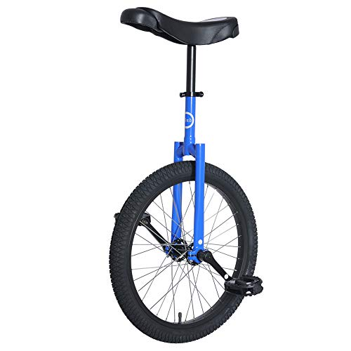 Best Review Of Club 20 Freestyle Unicycle - Blue