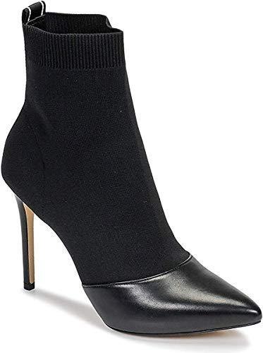 MICHAEL MICHAEL KORS Vicky Webbing Botines/Low Boots Mujeres Negro Botas de caña Baja