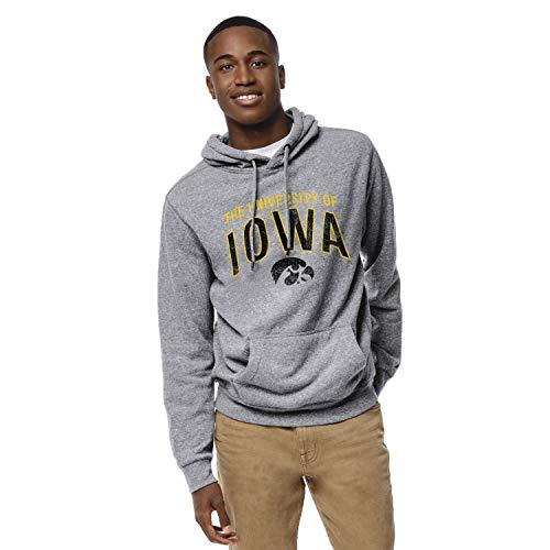 NCAA League Mens Iowa Hawkeyes Heritage Hood, X-Large, Fall Heather