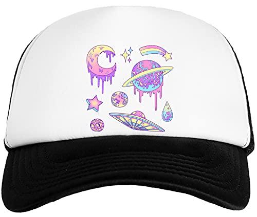 Rundi Pastel Galaxia Gorra De Béisbol para Niños Kids Baseball Ball Cap