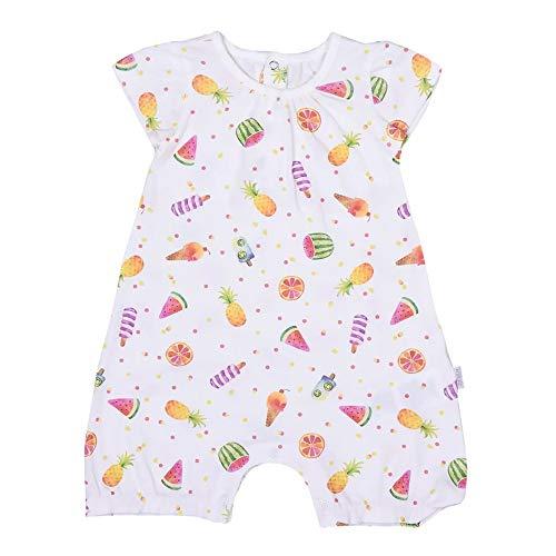 Sevira Kids - Combishort bébé fille en coton bio, Fruits