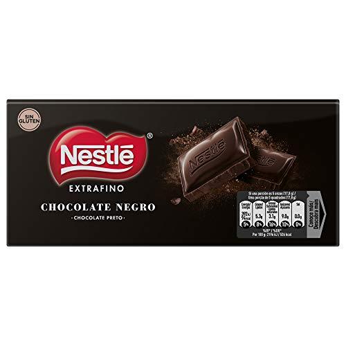 Nestlé Extrafino Tableta de Chocolate Negro - 125 g