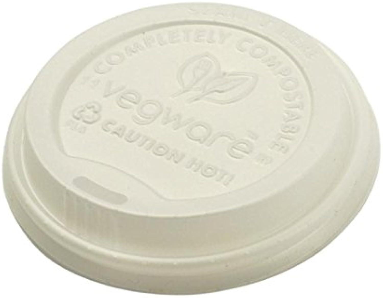 descuento de ventas Eco Vegware tapa 10,12,16 oz oz oz tazas calientes 100% abrazaderascompostables sorbo a través de 89 mm paquete 50  apresurado a ver