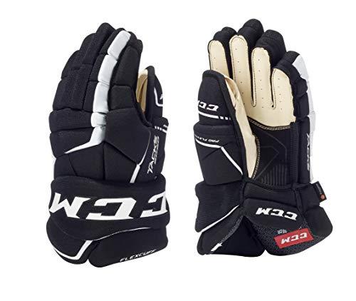 CCM Tacks 9060 Handschuhe Senior, Größe:15 Zoll, Farbe:schwarz/weiß