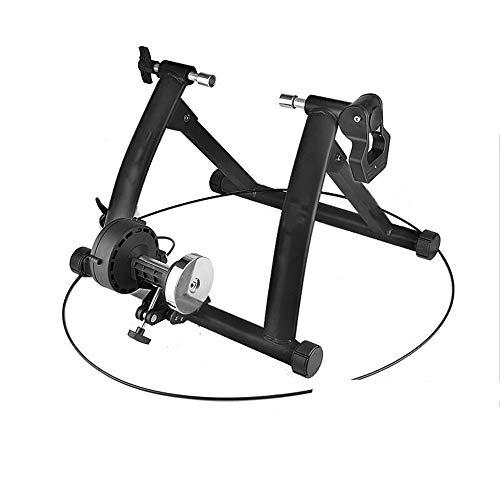 Indoor Bike Trainer Magnetische weerstand overdekte fietsenstalling Turbo Trainingstandaard Variabele Weerstand Foldale for 26-28 Inch Fietsen Platform Uitstekende Bruikbaarheid en Stabiliteit