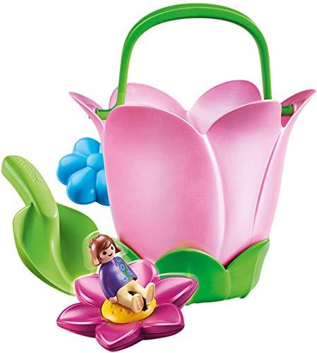 Cubo flor para la playa Playmobil 1.2.3 Sand (70065)