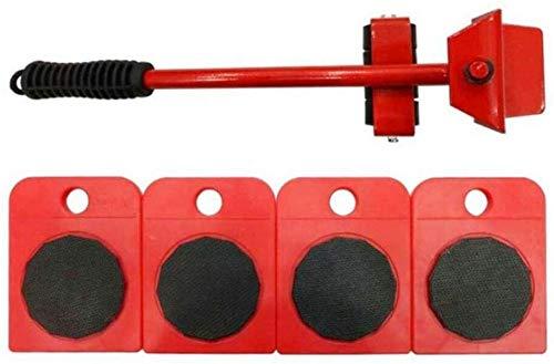 TXOZ-Q Mover Muebles Roller Set / 5Pcs, la Herramienta Mover los Muebles de Rodillos, Mover hasta 150 kg / 330LBS Adecuado for sofás y refrigeradores