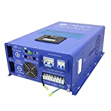 AIMS Power 10,000 Watt Pure Sine Inverter Charger 48Vdc / 240Vac Input to 120/240 Vac Split Phase Output 50 or 60 Hz