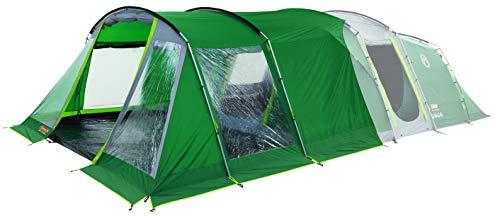 Coleman Oak Canyon 6 Front Extension, Large Vestibule for Oak Canyon 6 Tents, Sturdy Steel Construction, Large Closable PVC Windows, 100 Percent Waterproof, 4.500 HH