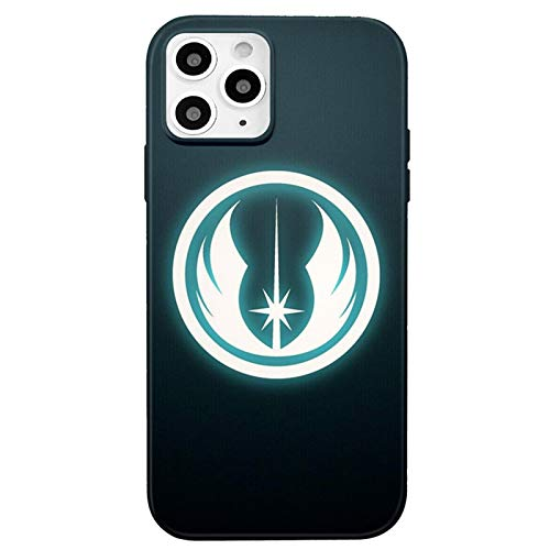 iPhone 12 case/iPhone 12 Pro case,Soft Star Wars Logo Slim Flexible TPU Cover with Full HD+Graphics for iPhone 12/iPhone 12 Pro(6.1) (Star-Wars2)