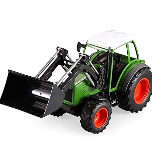 BPDD 1:16 Camión de Control Remoto Tractor agrícola Cargador de Carga eléctrico Juguete 2.4Ghz Control Remoto Vehículo agrícola Control Remoto Monster Car Control Remoto Juguete de construcción J