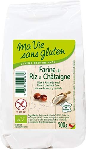 Ma Vie Sans luten Farine de Riz & Châtaigne 0.5 g 1 Unité 4977