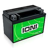 IONI 742390 12V AGM Batería, 8Ah - Compatible con YTX9-BS