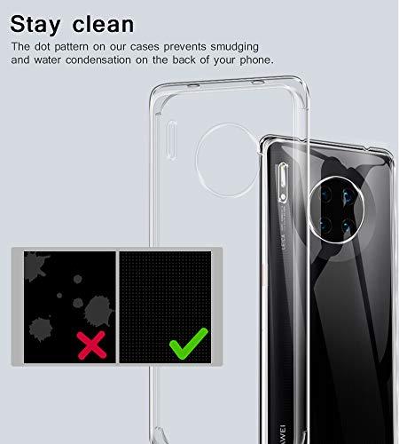 A-VIDET Hülle für Huawei Mate 30 Pro,Ultradünnes Silikon Softschale Rundumschutz Anti-Fall Gehäuse Einfache Rückenschutzhülle für Huawei Mate 30 Pro - 4