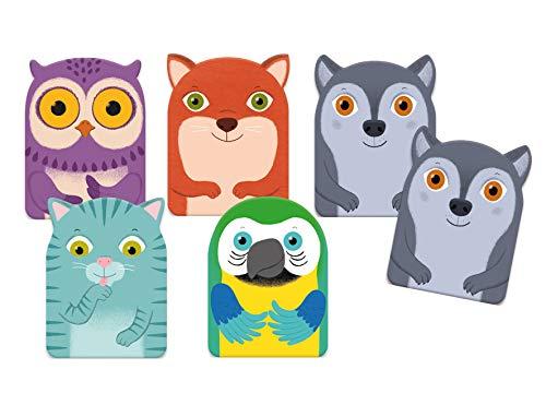 Djeco- Cartas Little Family Juegos (35062)