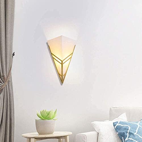 BUSUANZI Kreativität Acryl Schatten Metall Leinwand, Diamantform Indoor Beleuchtung Wandlampe Leuchten Kopfteillampen Nachtlichter Dekoration Wandleuchte