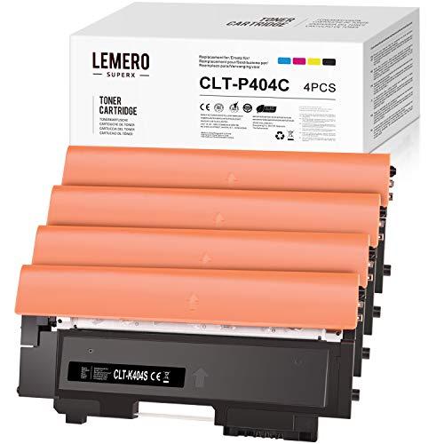 LEMERO SUPERX Toner Compatibile per CLT-P404C P404C CLT-K404S CLT-C404S CLT-M404S CLT-Y404S per Samsung Xpress C480 Samsung C480W Samsung SL C480 C480W SL C480FW SL C480FN C430 C430 430 W.