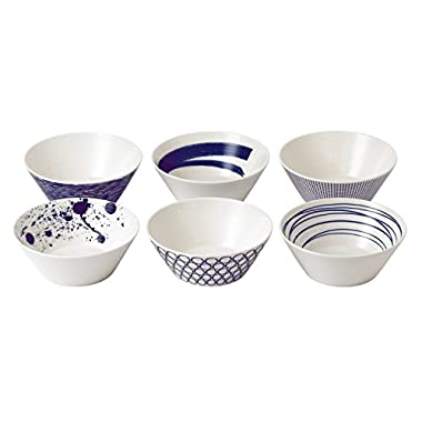 Royal Doulton 40019363 Pacific Mixed Patterns Bowls , 6.2 , Multiple ,(Set of 6)