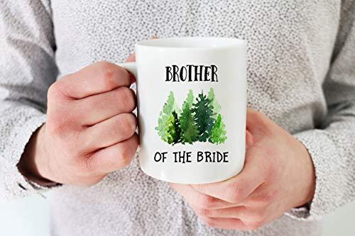 Rae Esthe Hermano de la Novia Taza de café Hermano de la Novia Regalo para Hermano Hermano de Novia Hermano Regalo Hermano Regalo de Boda para mi Hermano