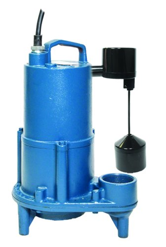 "2/"" Discharge 1//2 HP Barnes Pumps SEV412 101292 Submersible Sewage Ejector Pump"