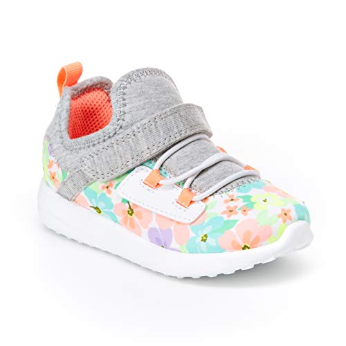 Carter's Girl's Athletic Sneakers, print, 8 M US Toddler