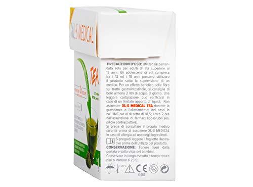 XL-S MEDICAL Tea Tè dimagrante Premium, Estratto di Tè Matcha per la Perdita di Peso, App My Nudge Plan inclusa, 30 Giorni di Trattamento, 30 Stick