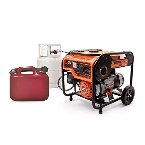 Etq TG32P31/TG32P31DF Tough Quality 3600-Watt Gas Powered Generator, Extremely Quiet- CARB Compliant (TG32P31DF)