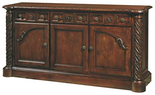 Signature Design By Ashley - North Shore Dining Room Buffet Server - Traditional Style - Dark Brown