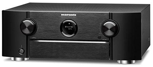 Marantz SR6010/N1B 7.2 AV-Receiver (7x 185W, Bluetooth, Spotify connect, Airplay, Phono, 7-HDMI Eingänge, 2-Ausgäng) schwarz