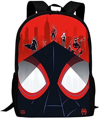 Spider Man Marvel - Mochila escolar con dibujos animados para niños, impermeable, tamaño grande para la escuela, Spiderman 2., large,
