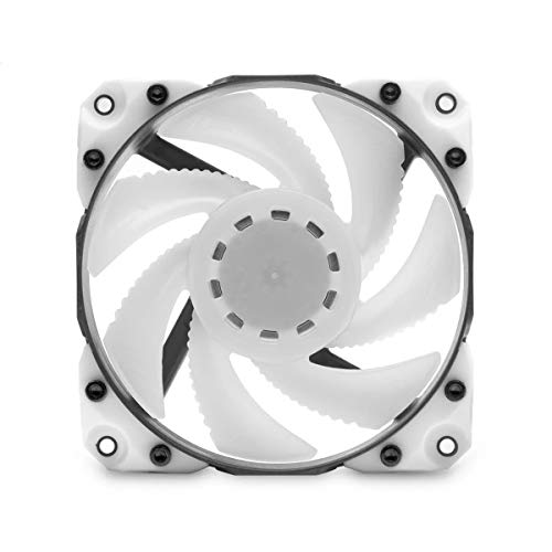EKWB EK-Vardar X3M 120ER PWM 120mm Fan, 500-2200 RPM, Digital RGB, White