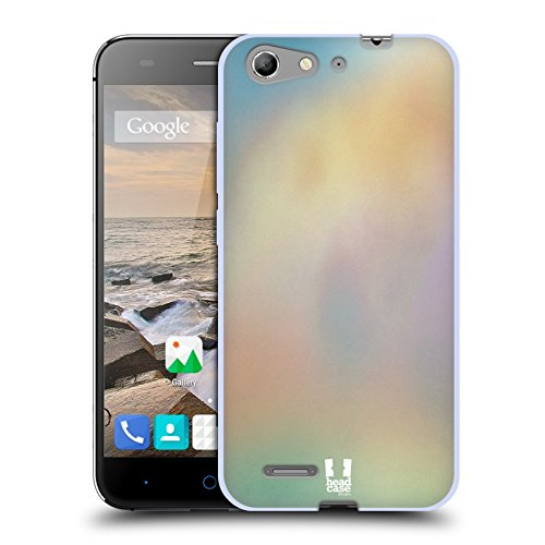 Head Case Designs Chill Aquarell Soft Gel Huelle kompatibel mit ZTE Blade V6 / D6