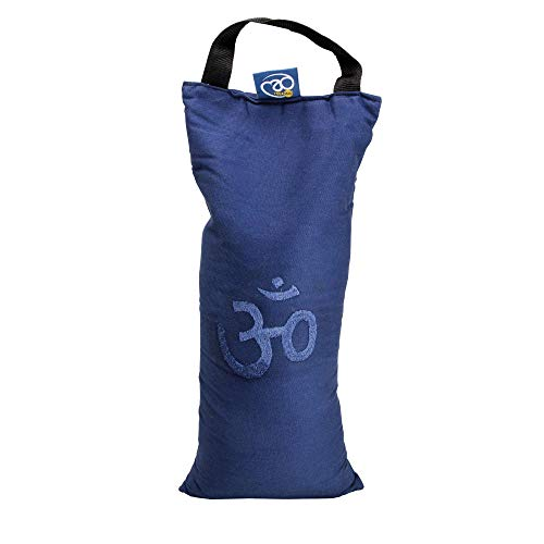 Yoga Mad Sand Bag Blue Bolsa de Arena para Yoga, Unisex Adulto, Azul, 5 kg