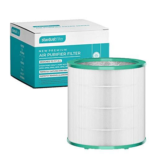 STARDUST - Filtro di ricambio per purificatore d'aria Dyson Pure Cool Link TP02 TP03 TP00 AM11 BP01 [sostituisci il pezzo n. 968126-03]